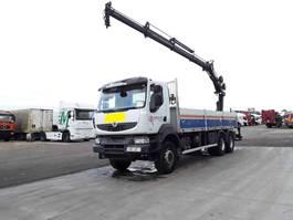 platform vrachtwagen Renault Kerax 410 DXI Hiab 200_ 200_4 2008