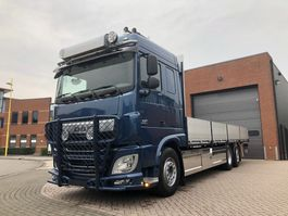 bakwagen vrachtwagen > 7.5 t DAF XF 460 6x2 retarder lifting and steering 3rd axle 2017