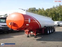 tankoplegger Indox Fuel tank alu 40.4 m3 / 6 comp 2004