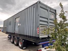 generator MTU 16V 4000 Leroy Somer SDMO 2200 kVA Supersilent generatorset in container... 2008
