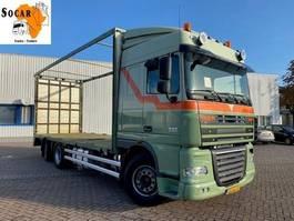 open laadbak vrachtwagen DAF XF 105.410 6x2 Pluimvee/Geflügel /Chicken transport 2011