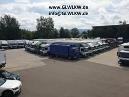 schuifzeil vrachtwagen Mercedes-Benz ATEGO 1530 L BIGSPACE Pritsche 7,30 m LBW 1,5 T 2017