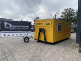 sanitaircontainer Deco Unit / sanering unit, Decontaminatie unit 2007