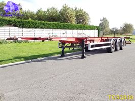 container chassis oplegger Fruehauf Container Transport 2005