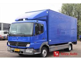 bakwagen vrachtwagen > 7.5 t Mercedes-Benz Atego 815 BOX TRUCK CLOSED BOX LIFT AUTOMATIC 2005