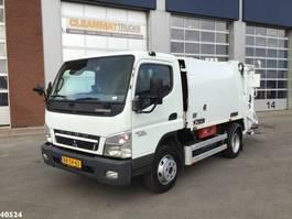 vuilniswagen vrachtwagen Mitsubishi Canter 7C15 5m3 2010