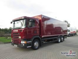 bakwagen vrachtwagen > 7.5 t Scania G320DB6X24MNB Trockenkoffer 2015