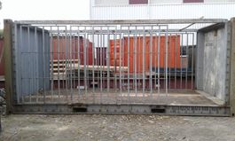overige containers Abarth 20ft flat met rekken