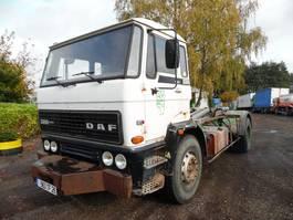 containersysteem vrachtwagen DAF 2300 containersysteem haakarm 1986
