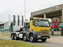 containersysteem vrachtwagen Mercedes-Benz 4151 AROCS - 8X4 - EURO 6 - 2015 - CONTAINERWAGEN - MOTOR PTO! 2015
