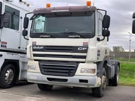 standaard trekker DAF CF85.410 FULL STEEL MANUAL GEARBOX!!!!!!!!! 2009