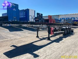 container chassis oplegger Fruehauf Container Transport 2004