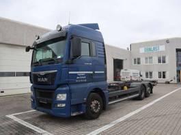 containersysteem vrachtwagen MAN TGX 26.480 2015