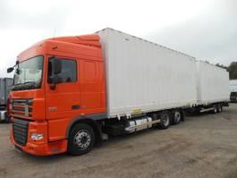 bakwagen vrachtwagen DAF XF 105.460 BDF JUMBO 120m3, NUR 358.926 KM!!! 2013