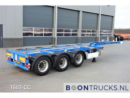 container chassis oplegger Pacton T3-010 | 2x20-30-40-45ft HC * MULTI CHASSIS 2008