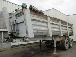 kipper oplegger Trailor S32E , 2 Axle , Spring suspension , drum brakes 1980