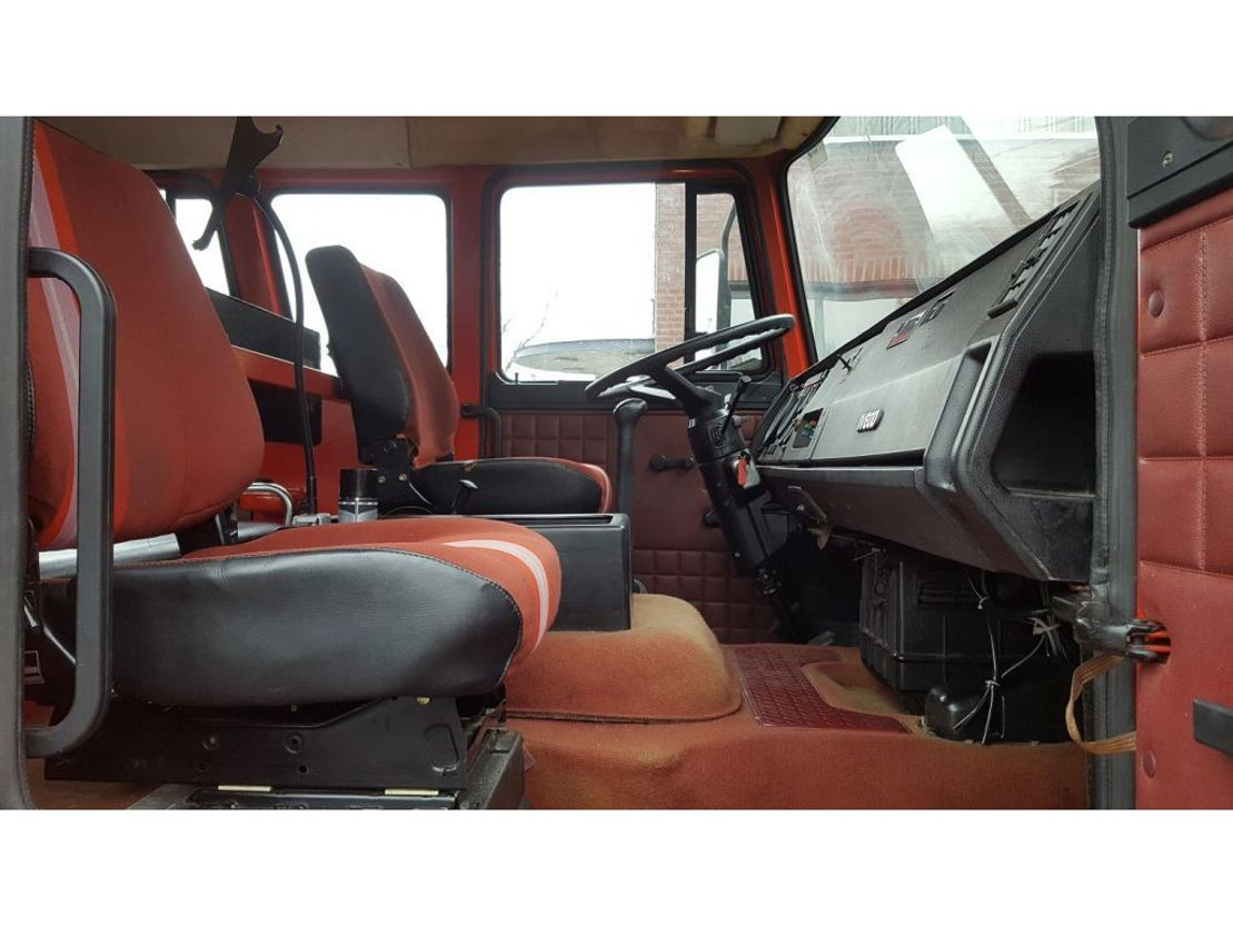 brandweerwagen vrachtwagen Iveco 165-240HP 1986