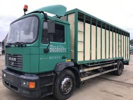 bakwagen vrachtwagen > 7.5 t MAN ME250 **6CYL-10 BOLTS-BELGIAN TRUCK** 2001