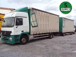 mega-volume vrachtwagen Mercedes-Benz Actros 1841 L Klima 3 Pedale 7, 3m Pritsche 2008
