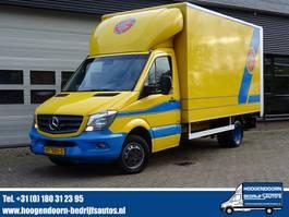 bakwagen bedrijfswagen < 7.5 t Mercedes-Benz Sprinter 516 CDI 7G-Tronic Automaat - Koffer - Dhollandia 2016