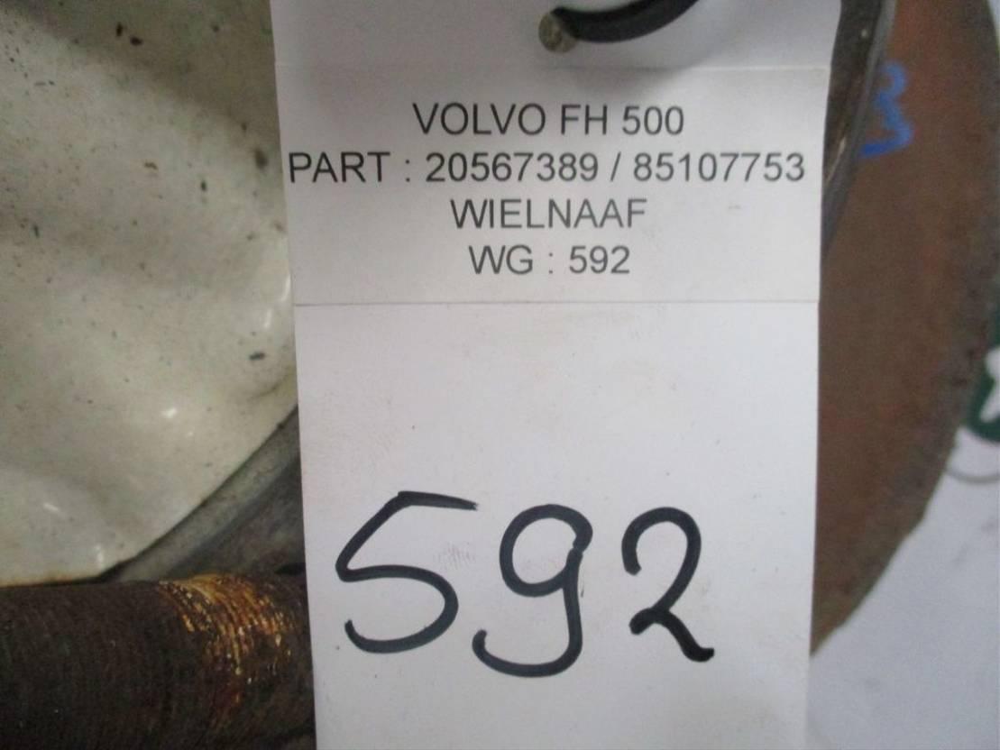 Naaf vrachtwagen onderdeel Volvo 20567389//85107753 Wiel naaf Volvo FH 500