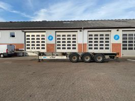 semi dieplader oplegger Fliegl Container chassis 2012