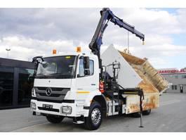 kipper vrachtwagen > 7.5 t Mercedes-Benz Axor 2633 , 6x4 , E5 , 2-side tipper , bordmatic , Crane Hiab 1 2012
