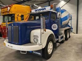 camion à bétonnière Scania T111 SCANIA LT 111 8x4 Special oldtimer 1978