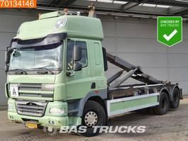 containersysteem vrachtwagen DAF CF 85 410 6X2 SC Manual Standklima Liftachse EEV 2010