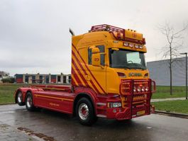 containersysteem vrachtwagen Scania R730 Highline 6x2 Nch kabel systeem 2013