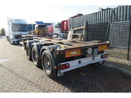 container chassis oplegger D-TEC FT-43-03V / 3x Extendable / ADR / Lift Axle 2007