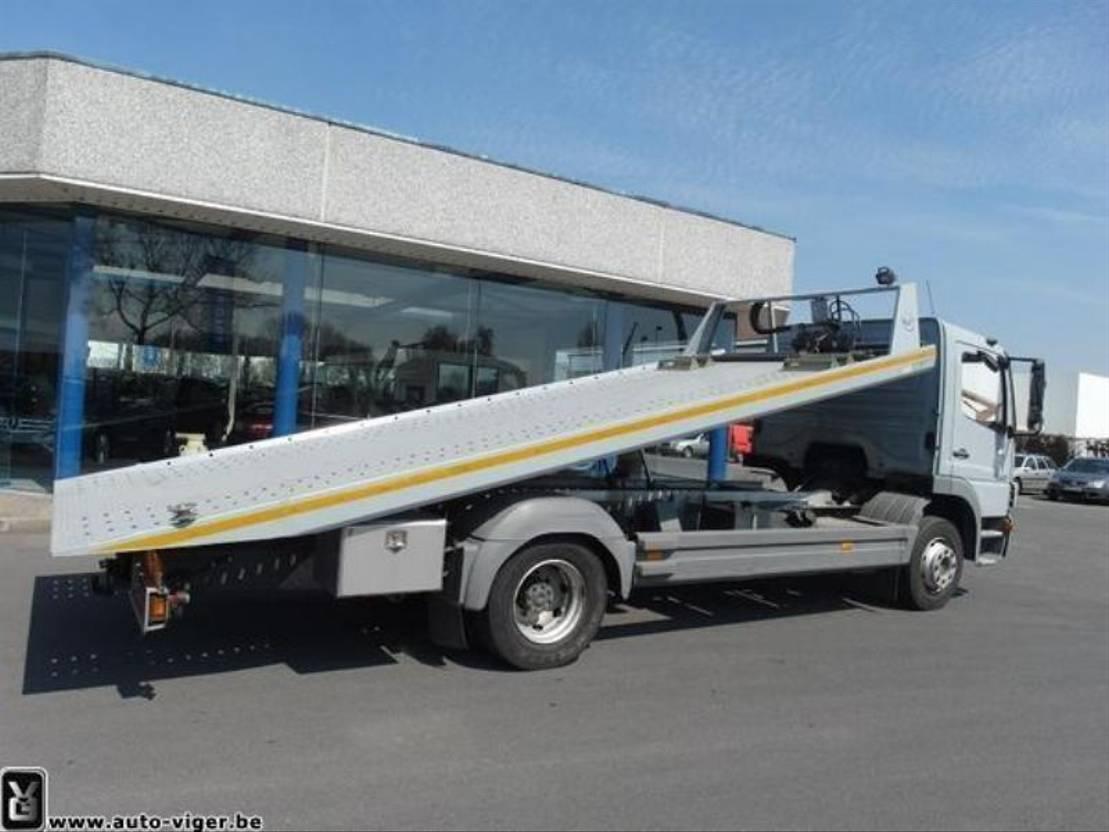 autotransporter vrachtwagen Mercedes-Benz ATEGO 1222 L 4x2 takelwagen 2006
