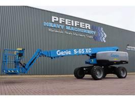 telescoophoogwerker wiel Genie S65XC Diesel, 4x4 Drive, Xtra Capacity 454 kg, 22m 2020
