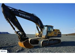 rupsgraafmachine Volvo EC380DL Excavator with good chassis. WATCH VIDEO 2011