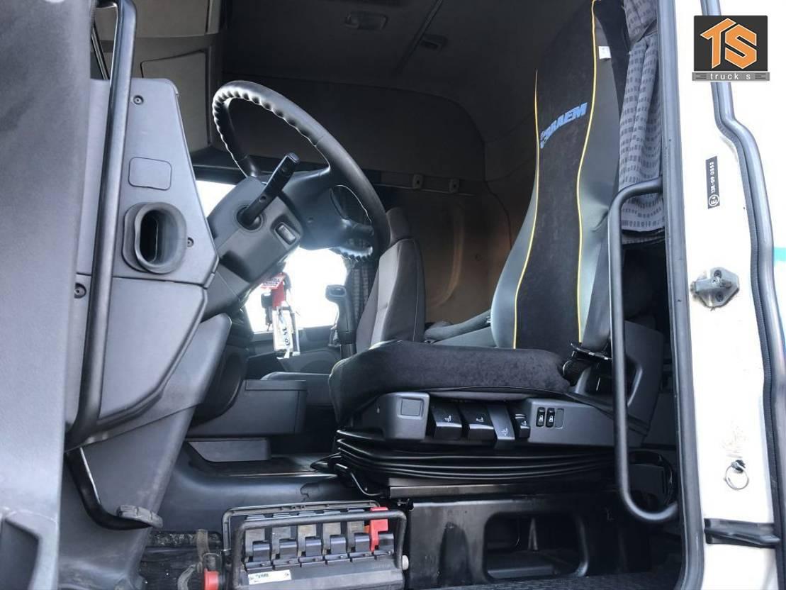 gevaarlijke stoffen trekker Scania R420 KRAN/CRANE - HIAB 15 tm - ADR - REMOTE - MANUAL - TOP CONDITION 2007