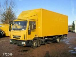 bakwagen bedrijfswagen < 7.5 t Iveco EuroCargo ML 75 E 16 P M752 - AHK - 2012