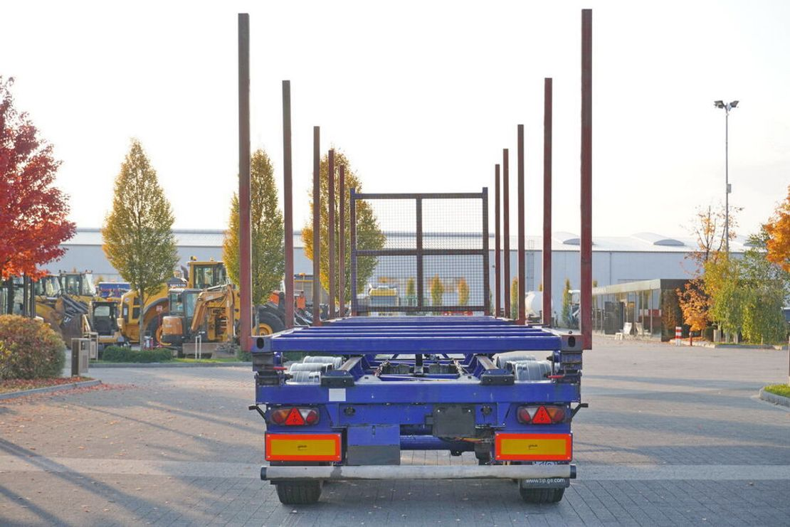 houtoplegger Dennison for wood , stretched , max 12,8m , 10x stachions , air suspensio 2009