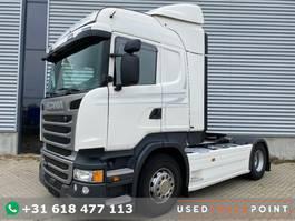 standaard trekker Scania R410 / Highline / Retarder / Euro 6 / TUV: 3-2020 / Belgium Truck 2015