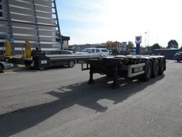 container chassis oplegger Nooteboom TRAILERS B.V. 2002