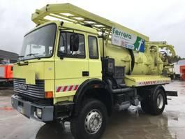 kolkenzuiger vrachtwagen Iveco 170-23AH **VACUUM TRUCK-HYDROCUREUR** 1992
