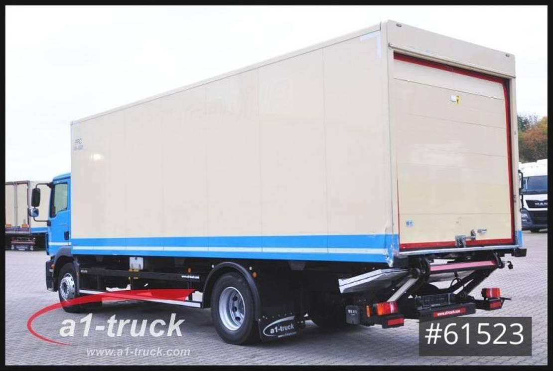 koelwagen vrachtwagen MAN TGM 18.290, LBW TK 1000 Spectrum 2014