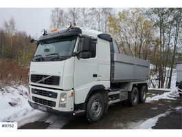 kipper vrachtwagen > 7.5 t Volvo FH 520 6x4 Tipper truck w/ Zetterberg build. Steel 2005
