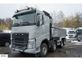 kipper vrachtwagen > 7.5 t Volvo FH 540 8x4 Tipper with tandem lift and automatic ha 2018