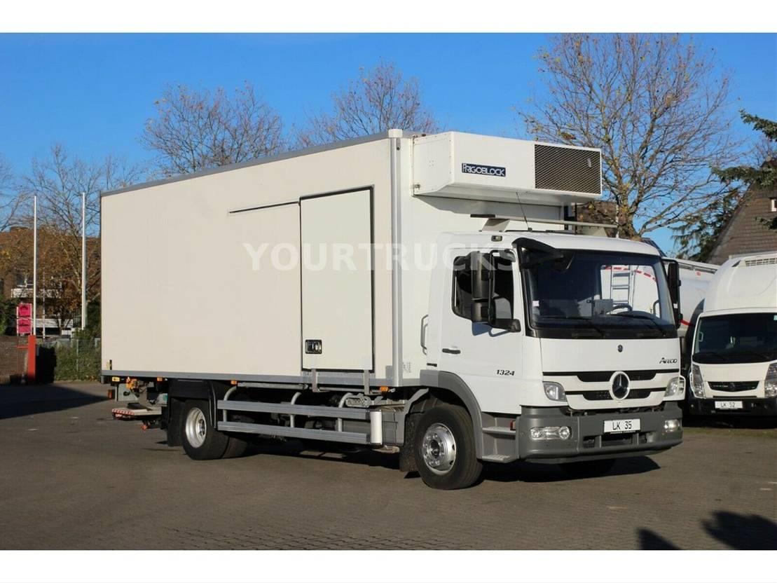 koelwagen vrachtwagen Mercedes-Benz Atego 1324 FK 25/Bi-Temp/Trennwand/Rolltor/LBW 2012