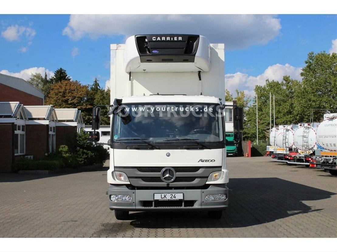 koelwagen vrachtwagen Mercedes-Benz Atego 1224 6-Zyl.Multi-Temp/CS 950Mt/Strom/Türen 2012