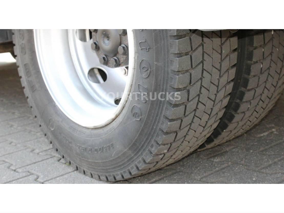 koelwagen vrachtwagen Mercedes-Benz Atego 1224 Tri-Multi-Temp/CS 950Mt/Strom/Tür/LBW 2012