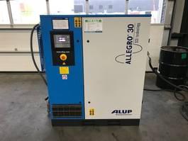 compressor Alup Allegro 30-10 30 kW 10 bar frequentie geregelde schroefcompressor 2014