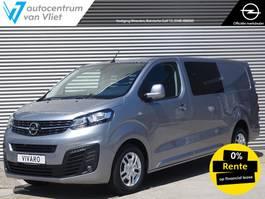 gesloten bestelwagen Opel Vivaro Dubbele Cabine 122Pk. Automaat Edition+ *NAVI* 2020