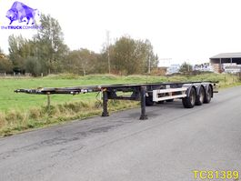 container chassis oplegger Van Hool Container Transport 2004