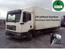 bakwagen vrachtwagen MAN TGL 10.210 BL Koffer 7,8m Lbw 2006